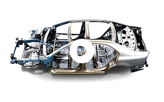 轿车结构件分类