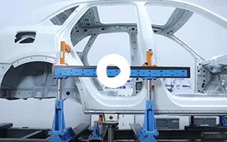 机械式车身测量系统应用